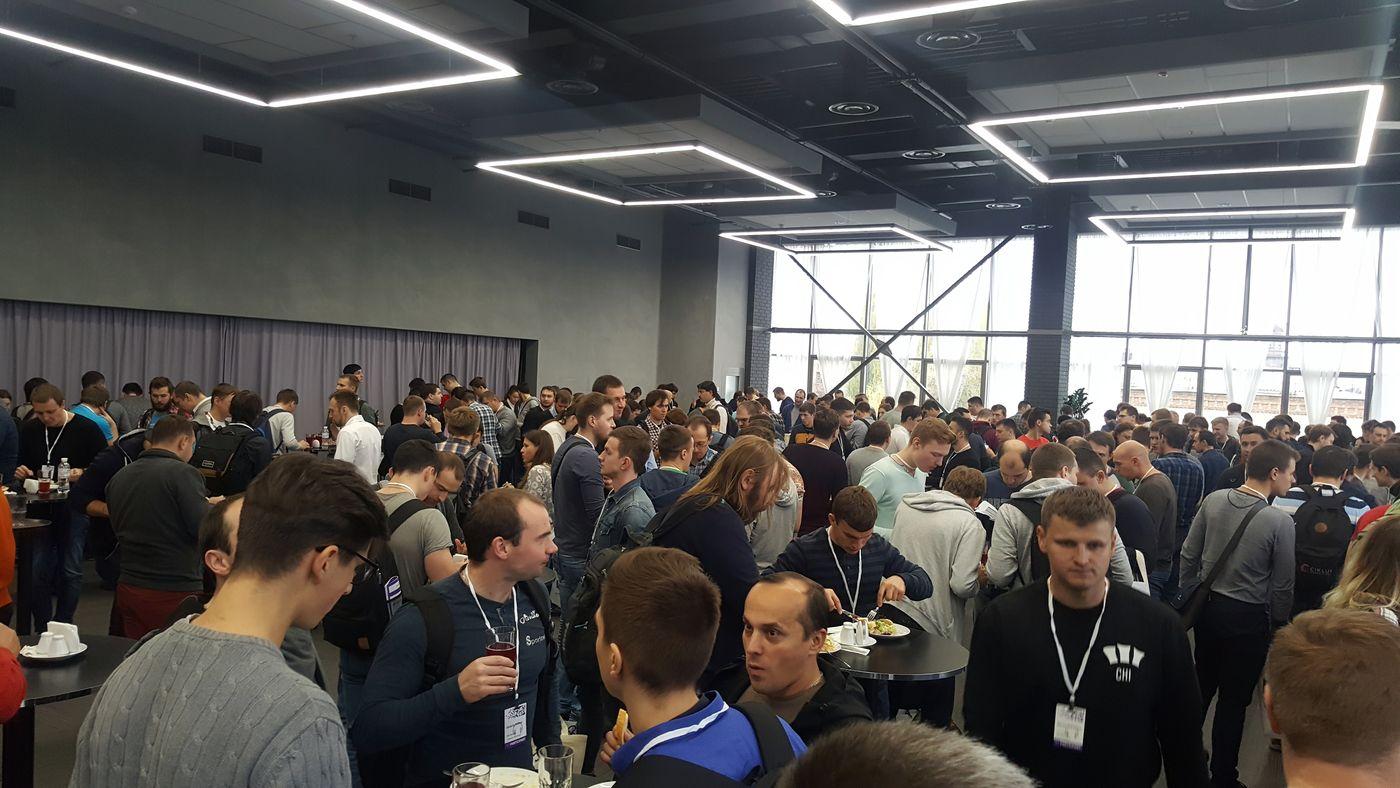 Еда конференции .NET