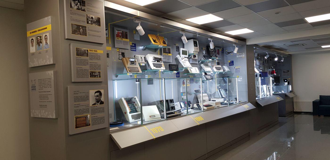 Экспозиция музей компьютерной техники
